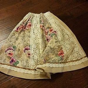 Vintage looking handmade skirt